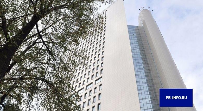 Так выглядит здание головного офиса Почта Банка